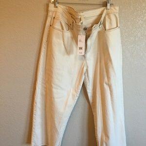 Eileen Fisher Undyed Organic Stretch jean